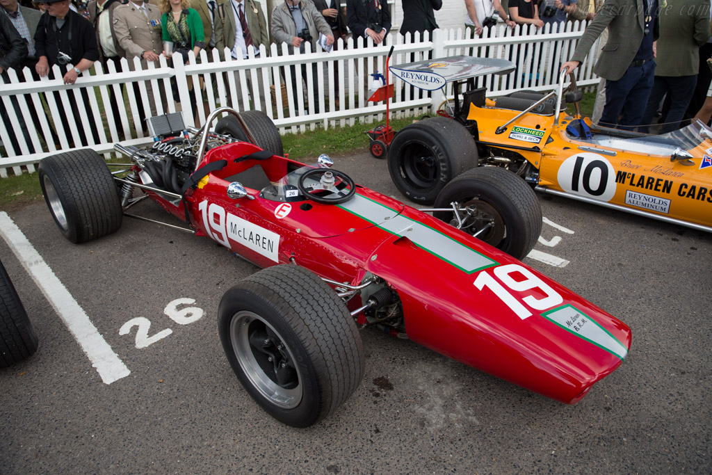 McLaren M5A BRM - Chassis: M5A/1 - Entrant: John Stafford  - 2015 Goodwood Revival