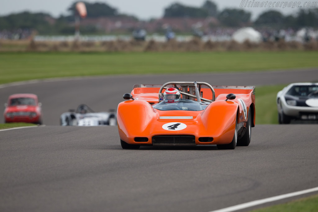McLaren M6B Chevrolet - Chassis: 50-08 - Entrant: Anthony Taylor  - 2015 Goodwood Revival