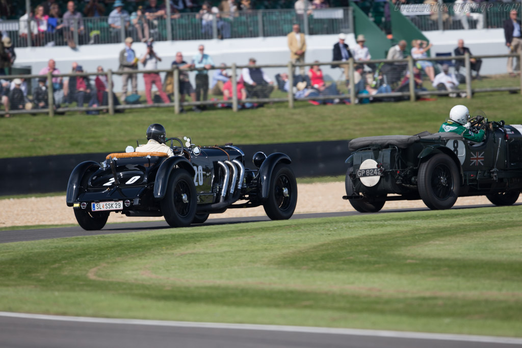 Mercedes-Benz 710 SSK - Chassis: 36037 - Driver: Helmut Rothenberger  - 2015 Goodwood Revival