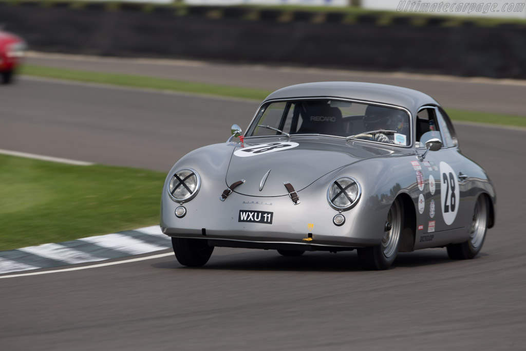 Porsche 356  - Entrant: Howard Donald - Driver: Chris Harris  - 2015 Goodwood Revival