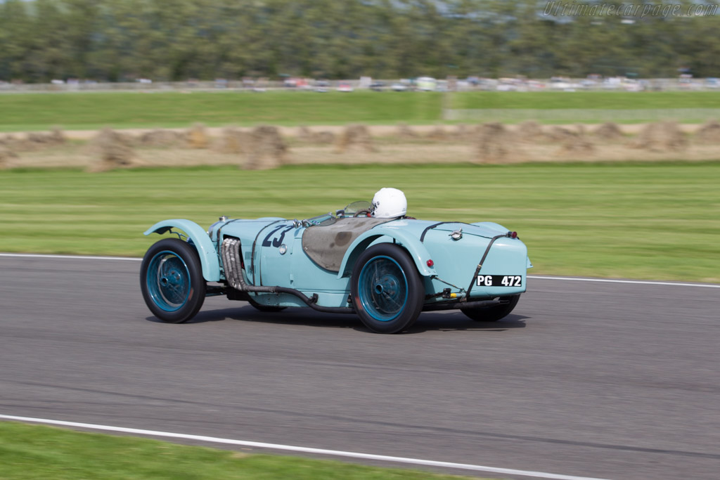 Riley Brooklands - Chassis: 8050 - Driver: Clive Temple  - 2015 Goodwood Revival