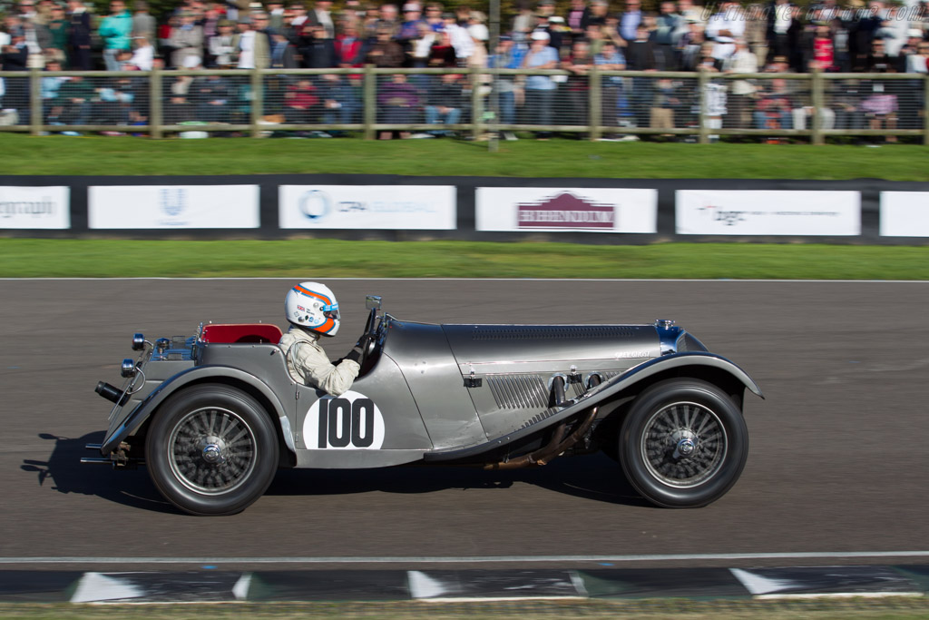 SS Jaguar 100 - Chassis: 18046A - Driver: Anthony Hancock  - 2015 Goodwood Revival