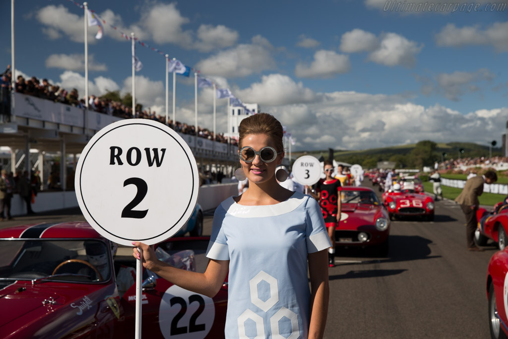 The Grid    - 2015 Goodwood Revival