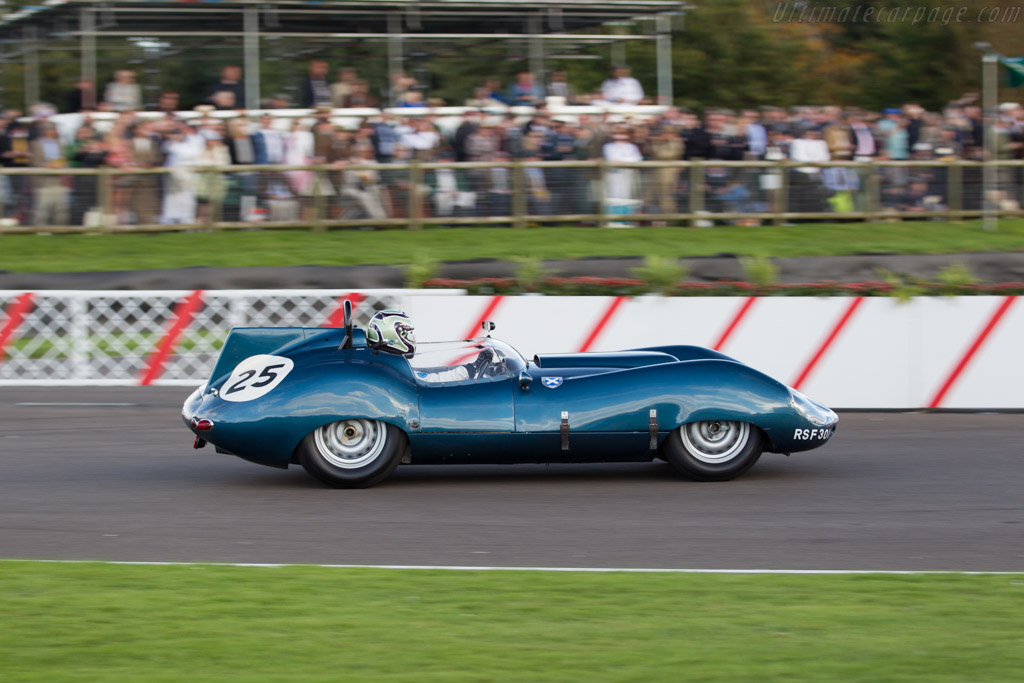 Tojeiro Jaguar - Chassis: TAD 1/59 - Entrant: DK Engineering - Driver: James Cottingham  - 2015 Goodwood Revival