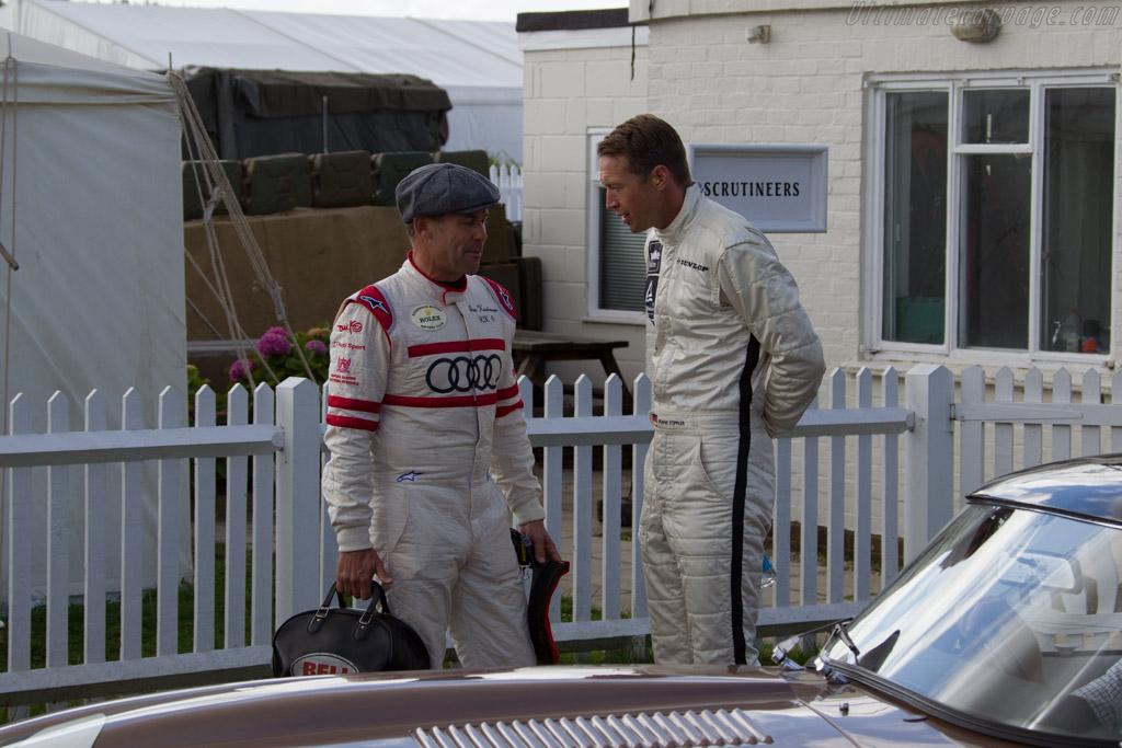 Tom Kristensen and Frank Stipler    - 2015 Goodwood Revival