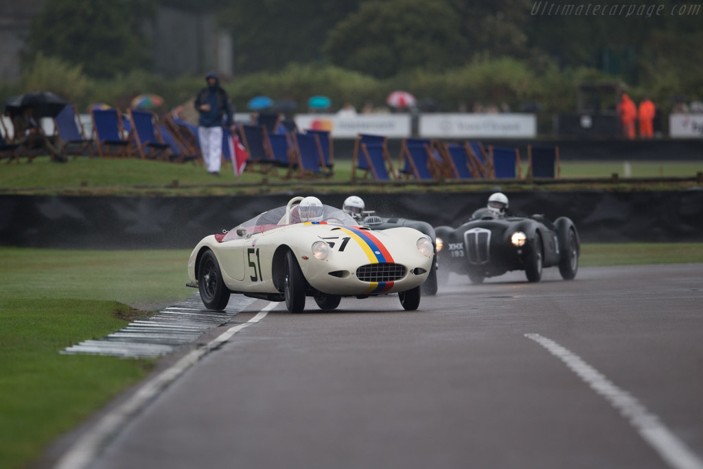 AC Ace Bristol - Chassis: AEX95 - Driver: Nigel Winchester  - 2016 Goodwood Revival
