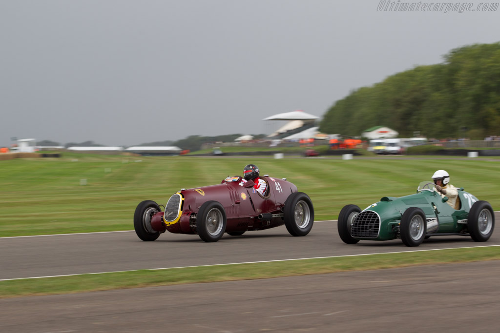 Alfa Romeo 8C-35 - Chassis: 50014 - Driver: Peter Greenfield  - 2016 Goodwood Revival