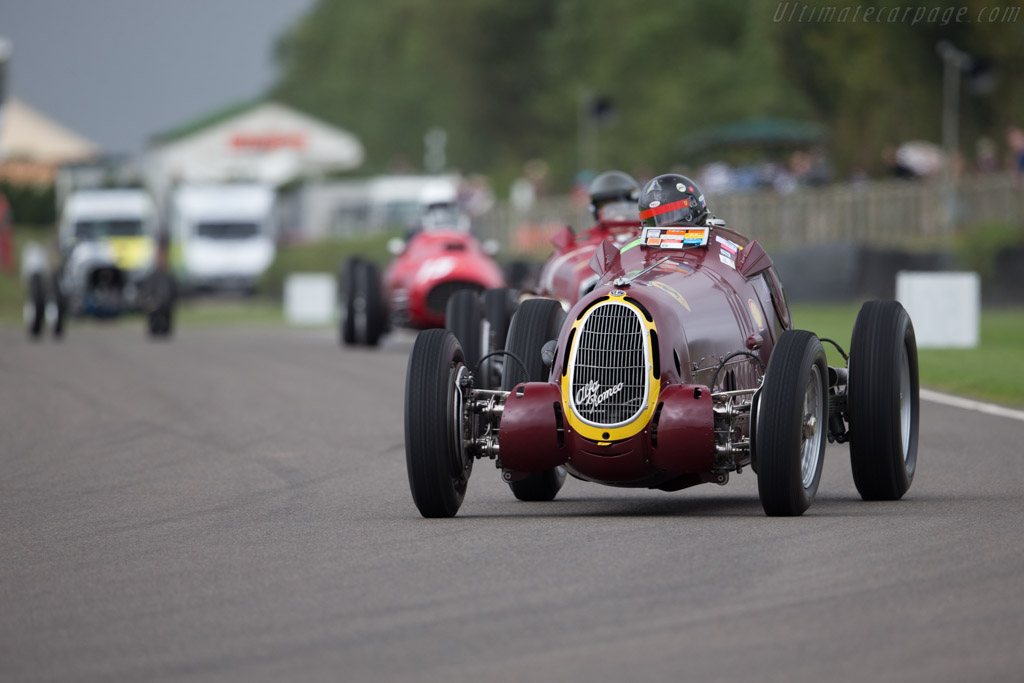 Alfa Romeo 8C-35 - Chassis: 50013 - Driver: Peter Greenfield  - 2016 Goodwood Revival