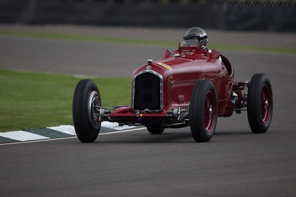 Alfa Romeo Tipo B - Chassis: 5006 - Driver: Christian Gläsel  - 2016 Goodwood Revival
