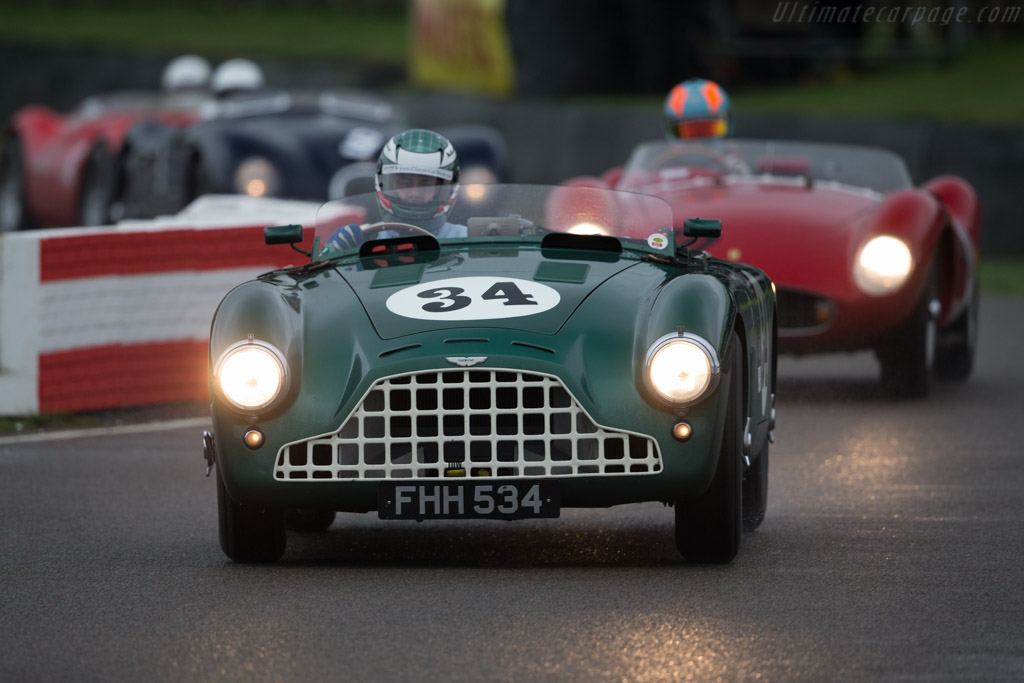 Aston Martin DB3 - Chassis: DB3/6 - Driver: Mark Midgley  - 2016 Goodwood Revival