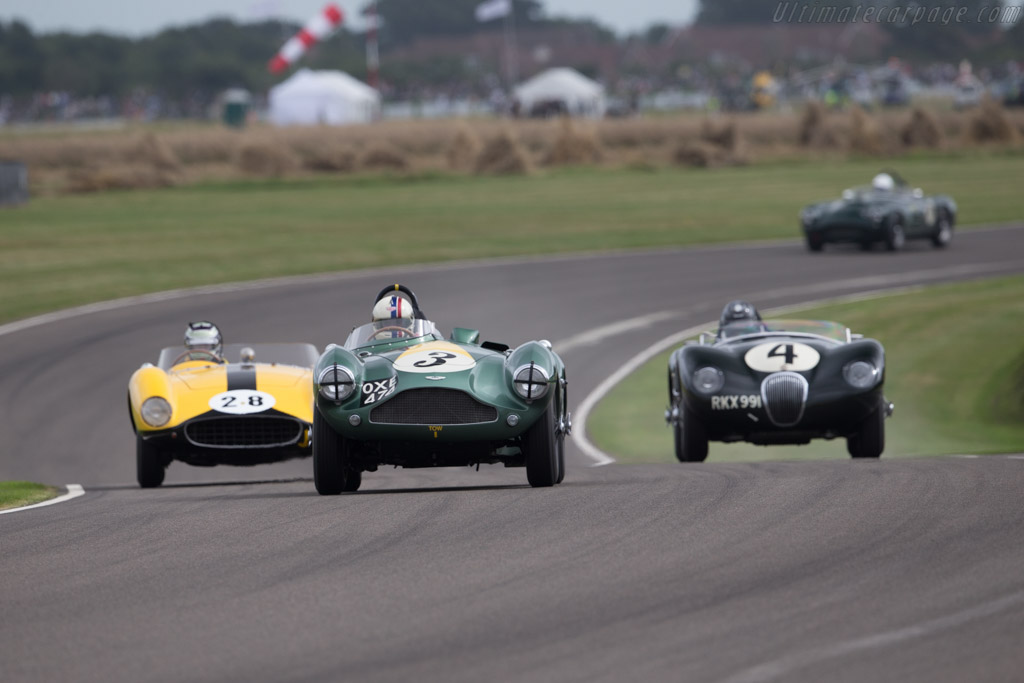 Aston Martin DB3S - Chassis: DB3S/104 - Driver: Steve Boulthbee Brooks  - 2016 Goodwood Revival