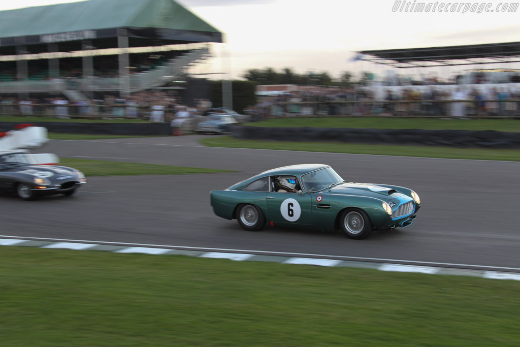 Aston Martin DB4 GT - Chassis: DB4GT/0110/R - Driver: Ian Dalglish / Roger Wills  - 2016 Goodwood Revival