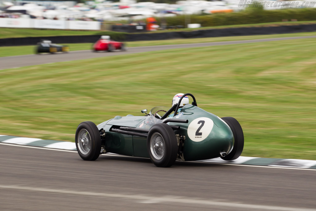 Aston Martin DBR4 - Chassis: DBR4/1 - Driver: Simon Hadfield  - 2016 Goodwood Revival