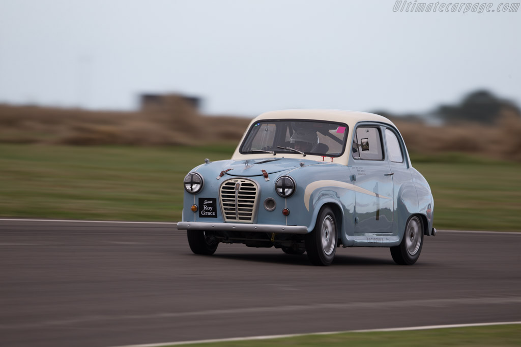 Austin A35  - Driver: Peter James  - 2016 Goodwood Revival