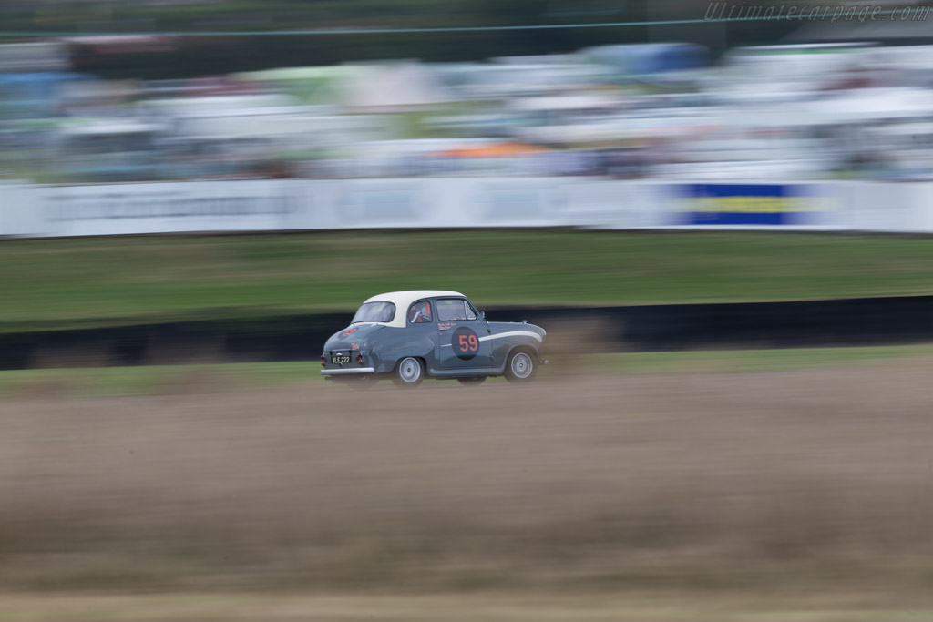 Austin A35  - Driver: Charles Knill-Jones  - 2016 Goodwood Revival