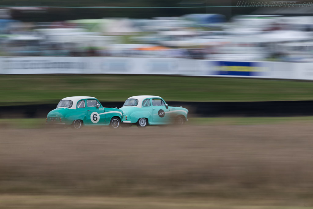 Austin A35  - Driver: Theo Paphitis  - 2016 Goodwood Revival