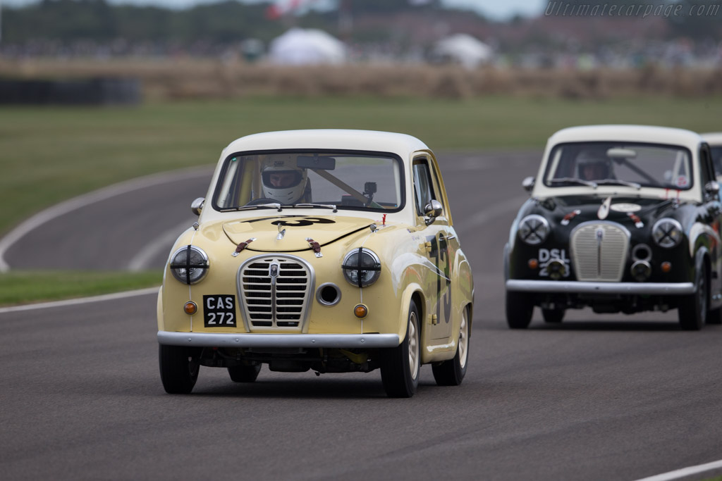 Austin A35  - Driver: Thomas Grindall  - 2016 Goodwood Revival