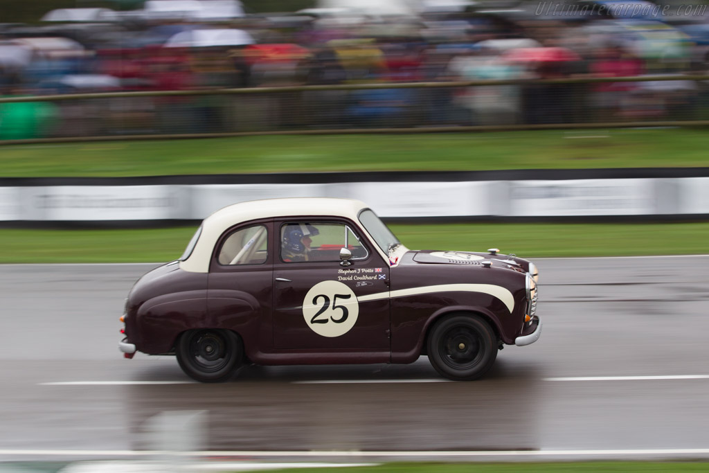 Austin A35  - Driver: David Coulthard  - 2016 Goodwood Revival