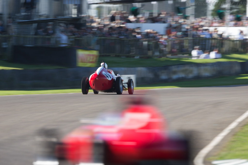 Autosud-Fiat  - Driver: Paul Halford  - 2016 Goodwood Revival