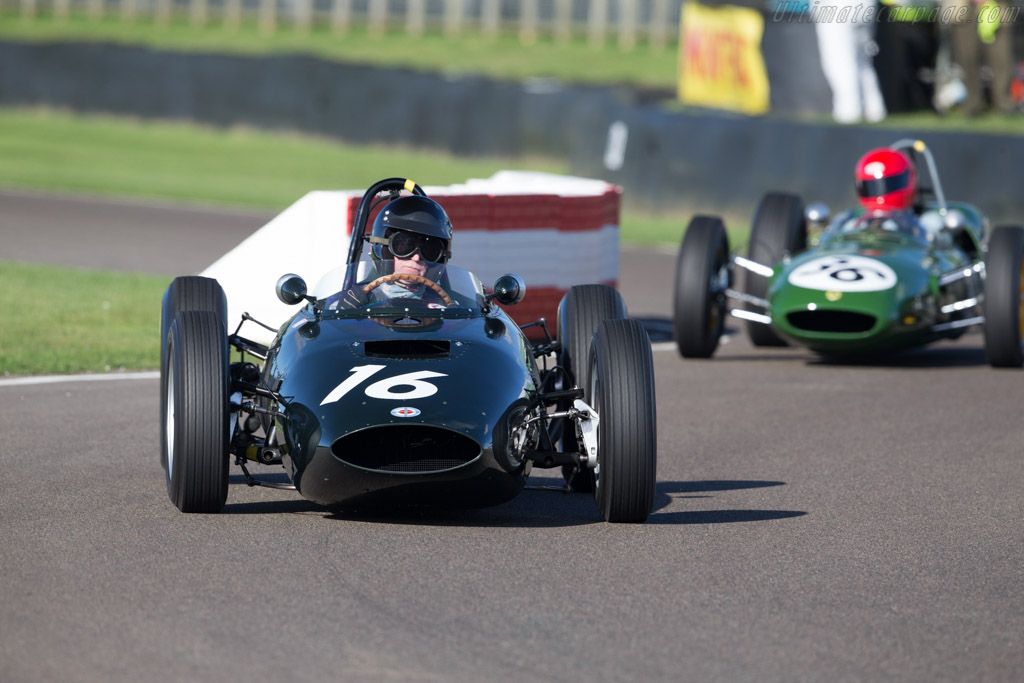 BRM P57 - Chassis: 572 - Driver: Charles McCabe  - 2016 Goodwood Revival