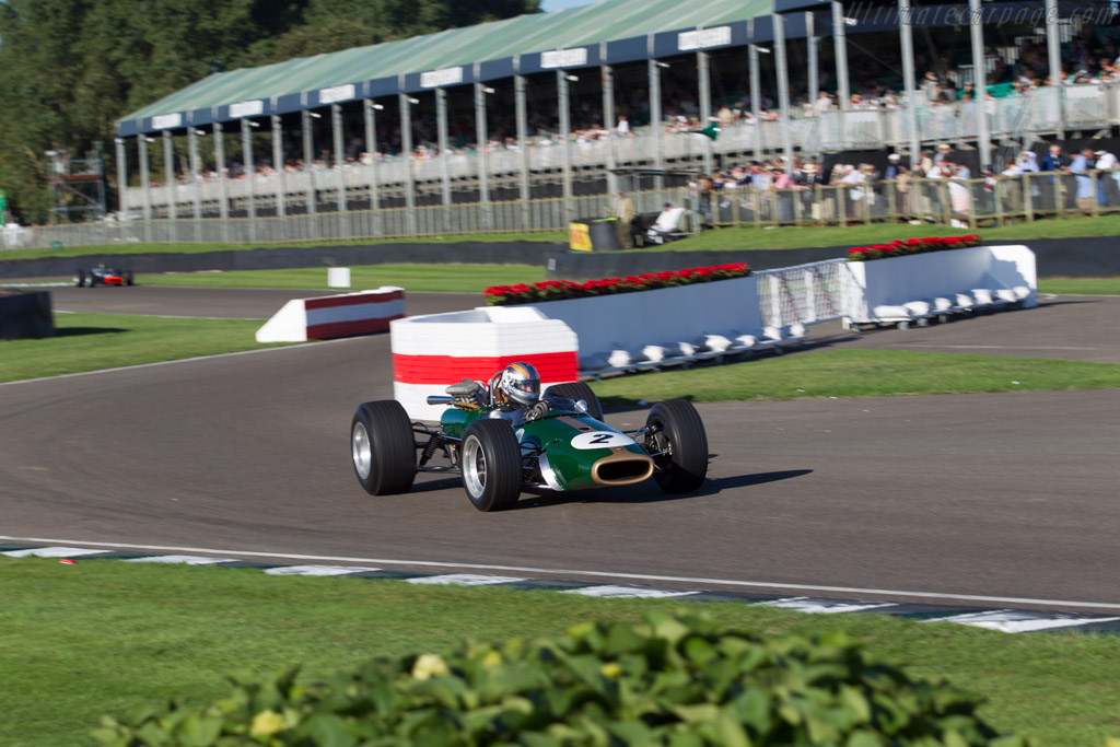 Brabham BT24 Repco - Chassis: BT24-2   - 2016 Goodwood Revival