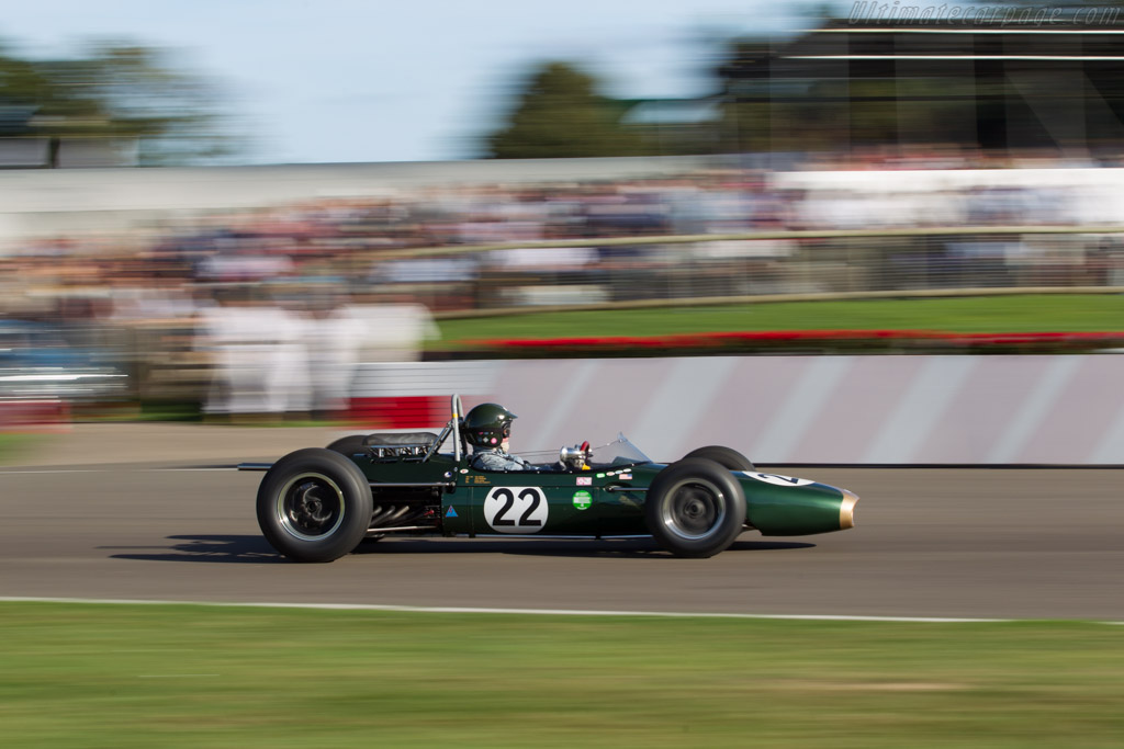 Brabham BT7 - Chassis: F1-1-63 - Driver: James King  - 2016 Goodwood Revival