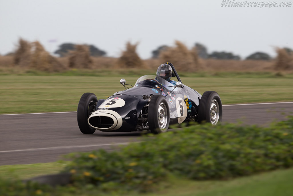 Connaught B Series - Chassis: B4 - Driver: Helmut Gassmann  - 2016 Goodwood Revival