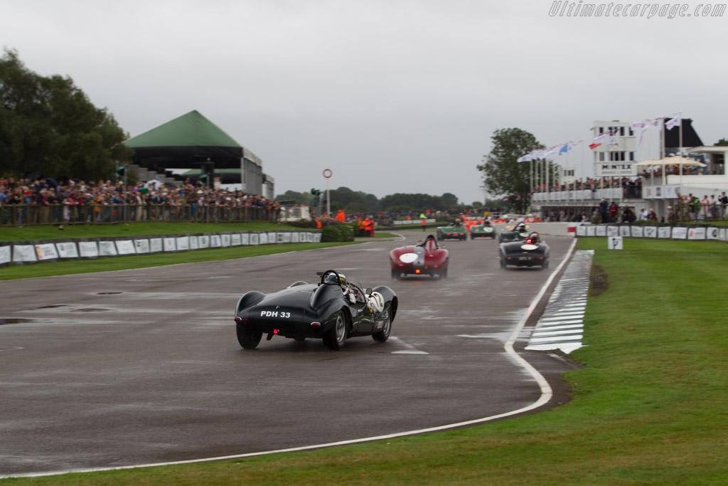 Cooper Jaguar T33 - Chassis: CJ-2-54 - Driver: Katarina Kyvalova  - 2016 Goodwood Revival