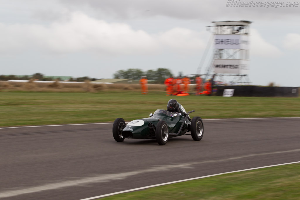 Elva 100 BMC - Chassis: 100-038 - Driver: Mark Woodhouse  - 2016 Goodwood Revival