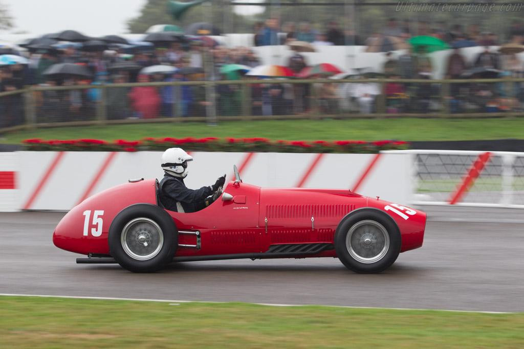 Ferrari 340 F1 - Chassis: 125-C-04 - Driver: Alexander van der Lof  - 2016 Goodwood Revival