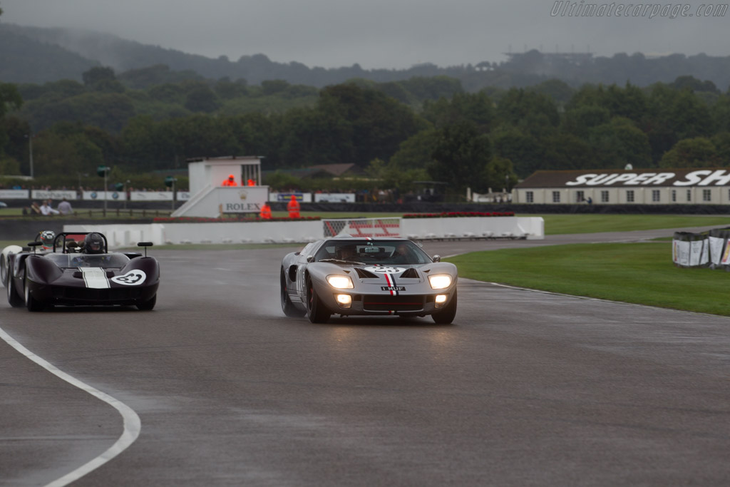 Ford GT40  - Driver: Andrew Smith  - 2016 Goodwood Revival