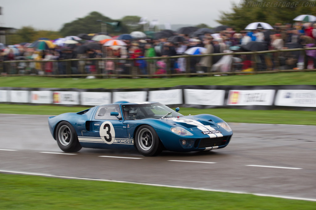 Ford GT40 - Chassis: GT40P/1018 - Driver: Christopher Wilson  - 2016 Goodwood Revival