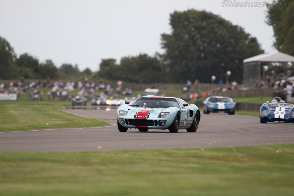 Ford GT40 - Chassis: GT40P/1025 - Driver: Shaun Lynn  - 2016 Goodwood Revival