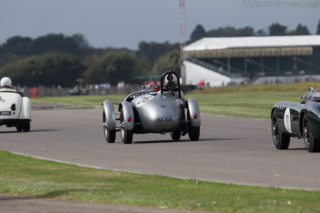 Frazer Nash High Speed - Chassis: 421/100/004 - Driver: Warren Spieker  - 2016 Goodwood Revival