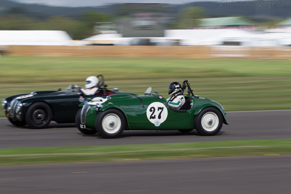 Frazer Nash Le Mans Replica - Chassis: 421/100/119 - Driver: Tim Summers  - 2016 Goodwood Revival