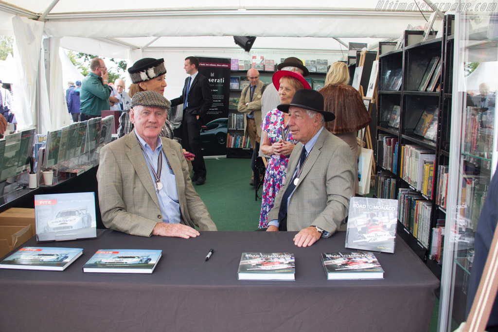 Howden Ganley and John Fitzpatrick    - 2016 Goodwood Revival