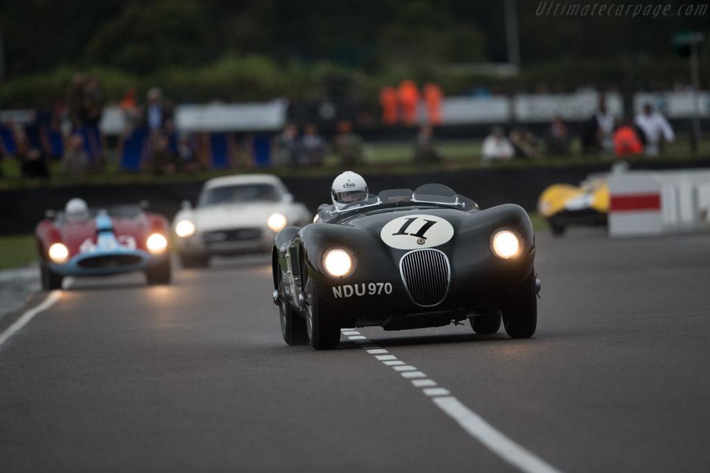 Jaguar C-Type - Chassis: XKC 037 - Driver: Frederic Wakeman  - 2016 Goodwood Revival