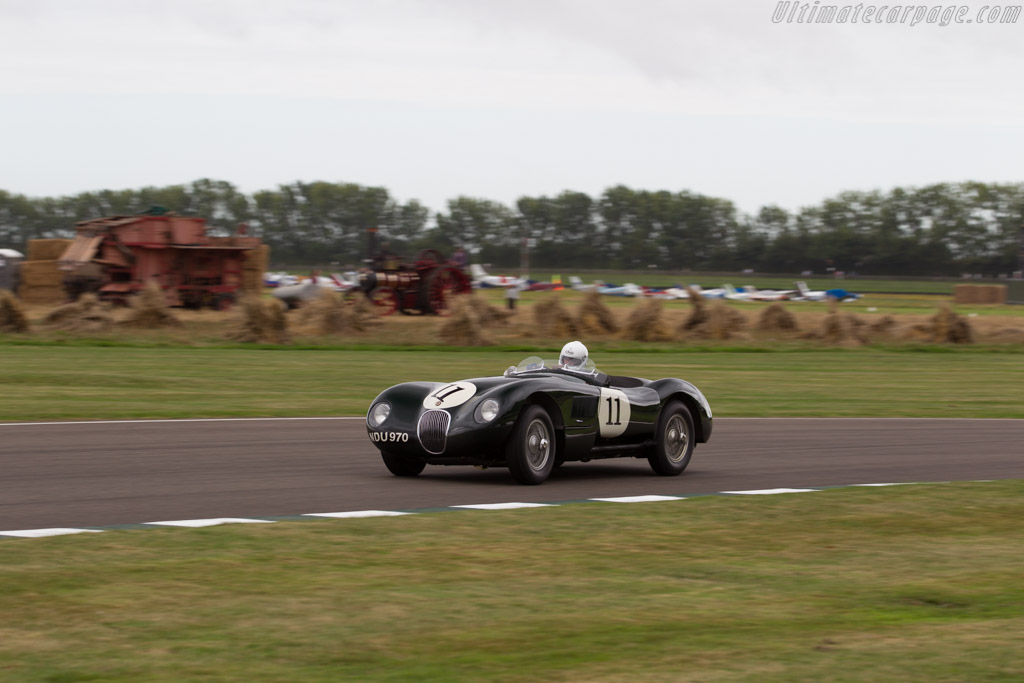 Jaguar C-Type - Chassis: XKC 037 - Driver: Frederic Wakeman  - 2016 Goodwood Revival