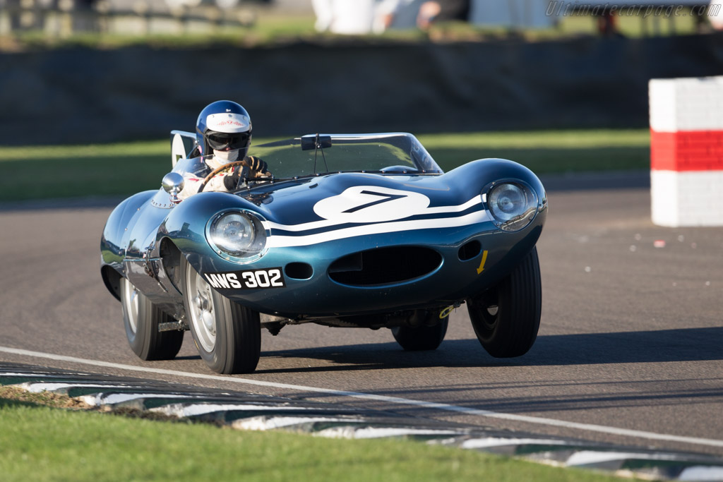 Jaguar D-Type - Chassis: XKD 502 - Driver: Chris MacAllister  - 2016 Goodwood Revival
