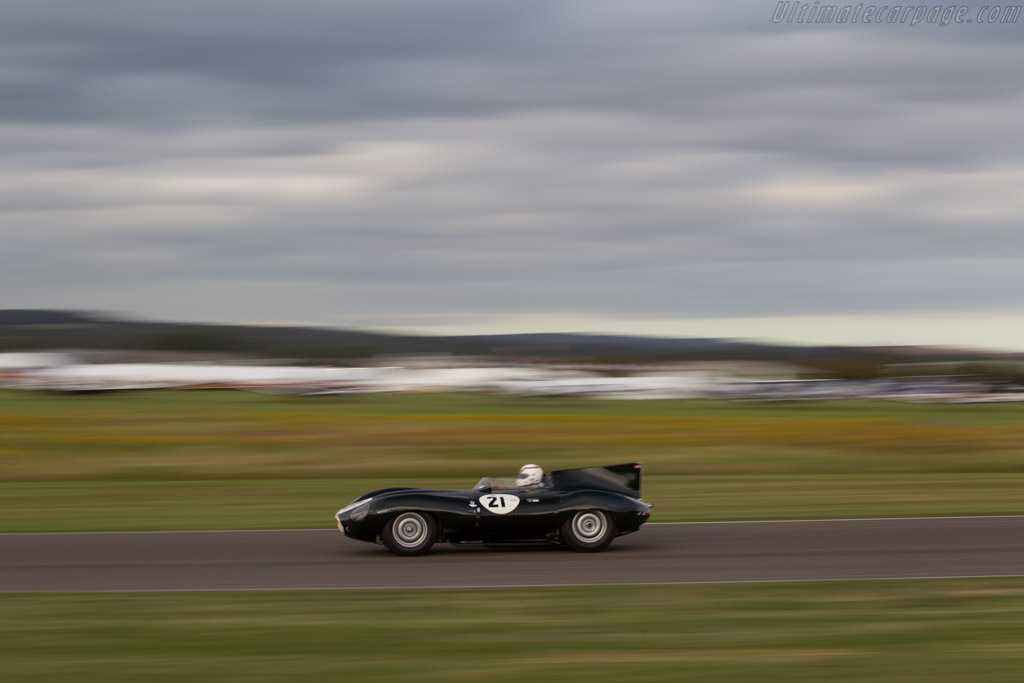 Jaguar D-Type - Chassis: XKD 505 - Driver: Andy Wallace  - 2016 Goodwood Revival