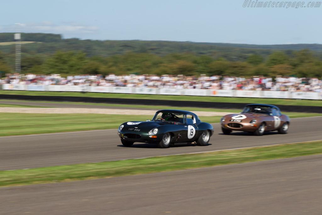 Jaguar E-Type - Chassis: 850020 - Driver: Martin Stretton/Anthony Reid  - 2016 Goodwood Revival