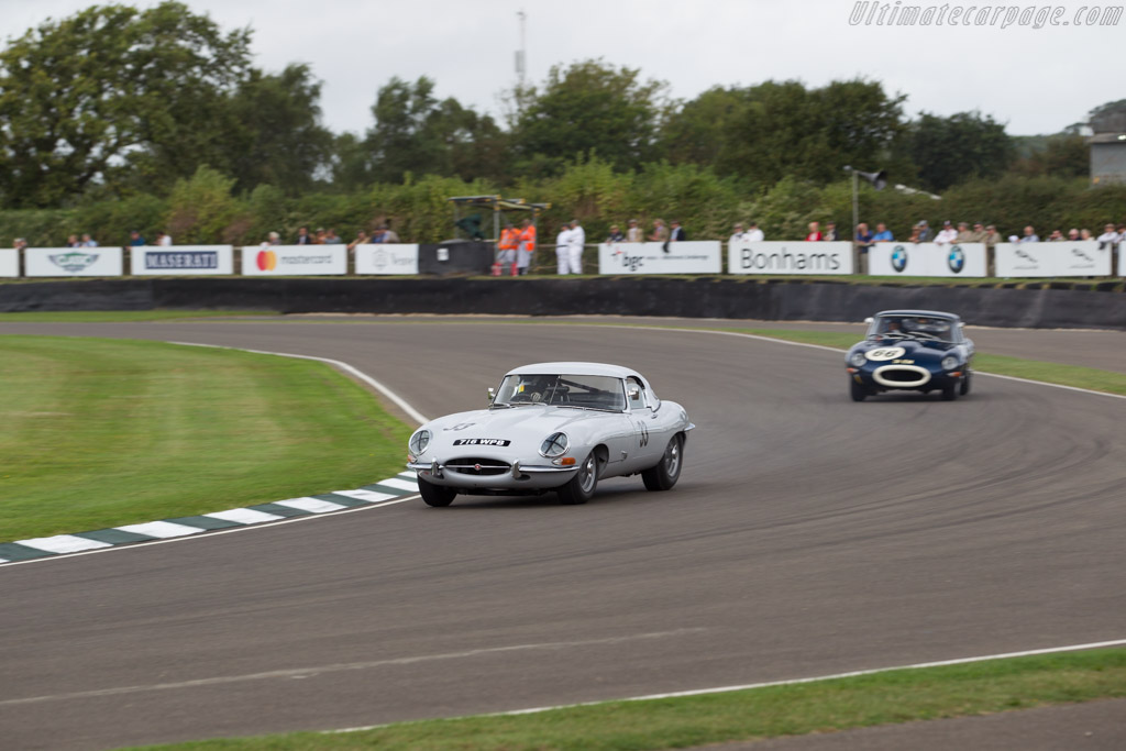 Jaguar E-Type - Chassis: 850228 - Driver: Rob Hall / Katerina Kyvalova  - 2016 Goodwood Revival
