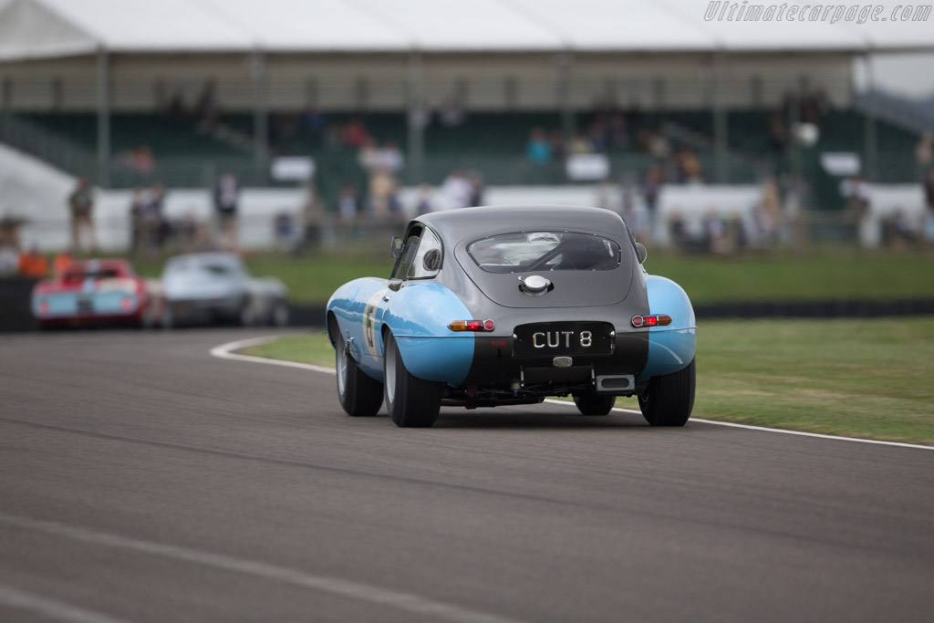 Jaguar E-Type Coupe - Chassis: 860953 - Driver: Ross Warburton / Andy Newall  - 2016 Goodwood Revival
