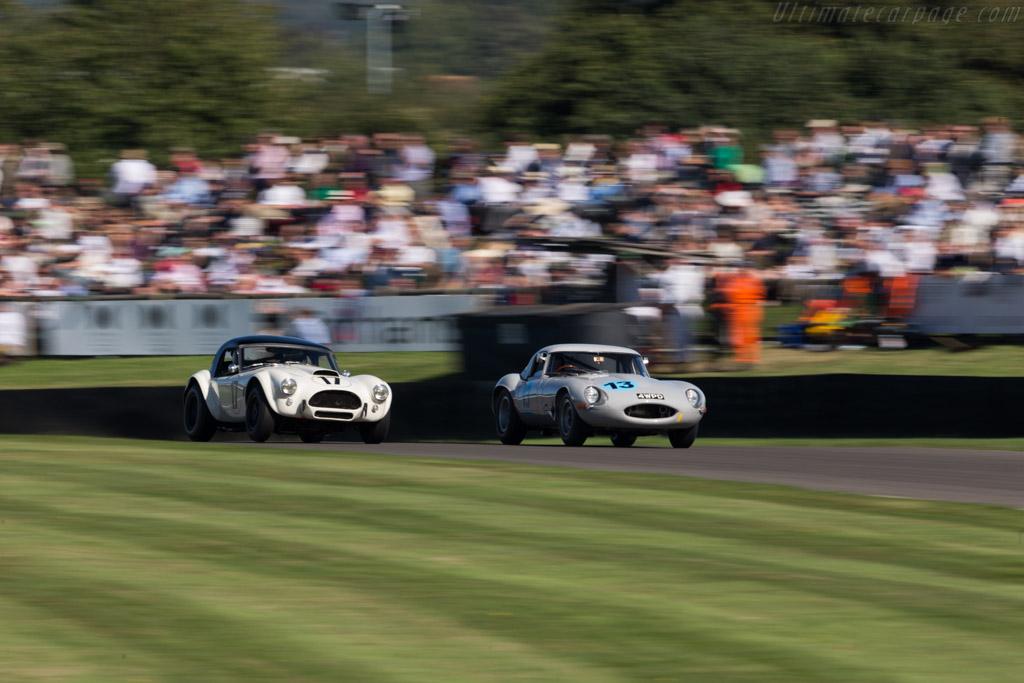 Jaguar E-Type Lightweight - Chassis: S850006 - Driver: Shaun Lynn/Andrew Haddon  - 2016 Goodwood Revival