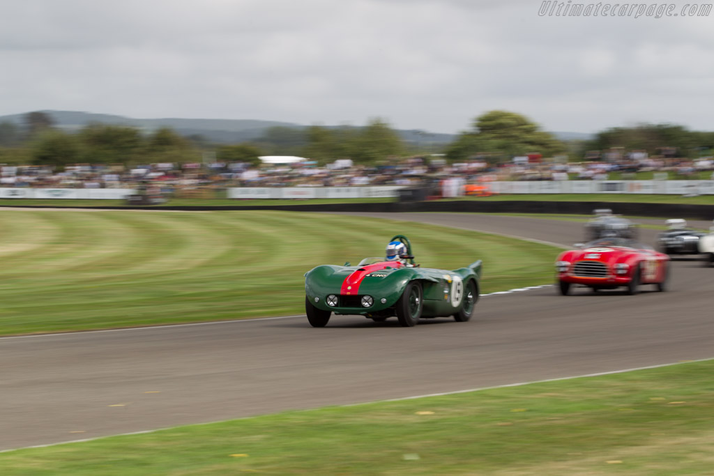 Lister-Bristol - Chassis: BHL 4 - Driver: Barry Wood  - 2016 Goodwood Revival