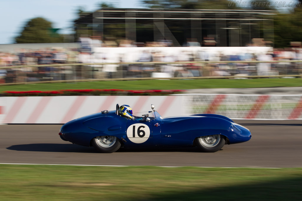 Lister Costin Jaguar - Chassis: BHL 135 - Driver: Richard Kent  - 2016 Goodwood Revival