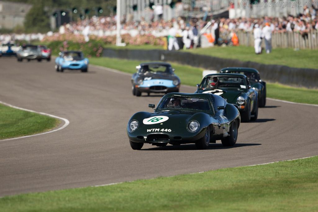 Lister-Jaguar Coupe - Chassis: BHL 136 - Driver: Frederic Wakeman/Patrick Blakeney-Edwards  - 2016 Goodwood Revival