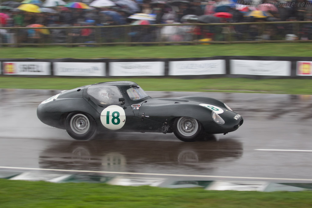 Lister-Jaguar Coupe - Chassis: BHL 136 - Driver: Frederic Wakeman / Patrick Blakeney-Edwards  - 2016 Goodwood Revival