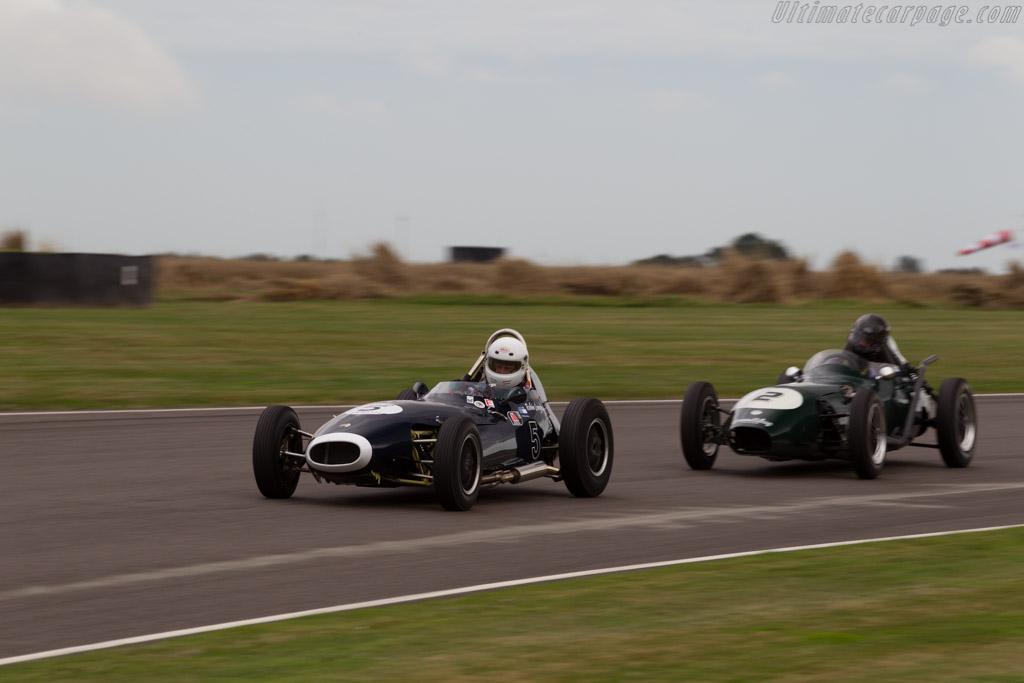 Lola Mk2-Ford - Chassis: BRJ-3 - Driver: Robin Langdon  - 2016 Goodwood Revival