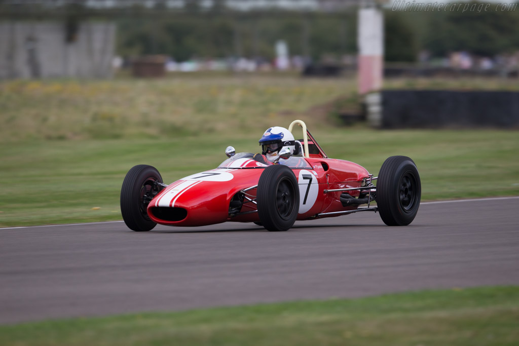 Lola T54 Ford - Chassis: F2-64 - Driver: Patrick Jamin  - 2016 Goodwood Revival